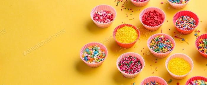 Different sprinkles