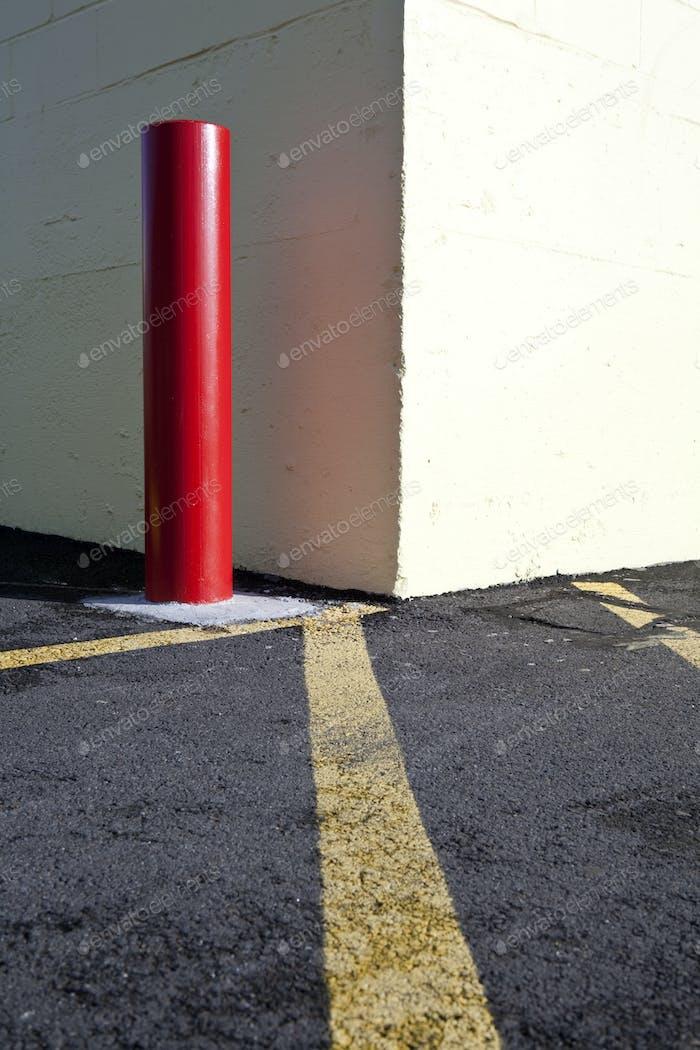 Parkplatz post