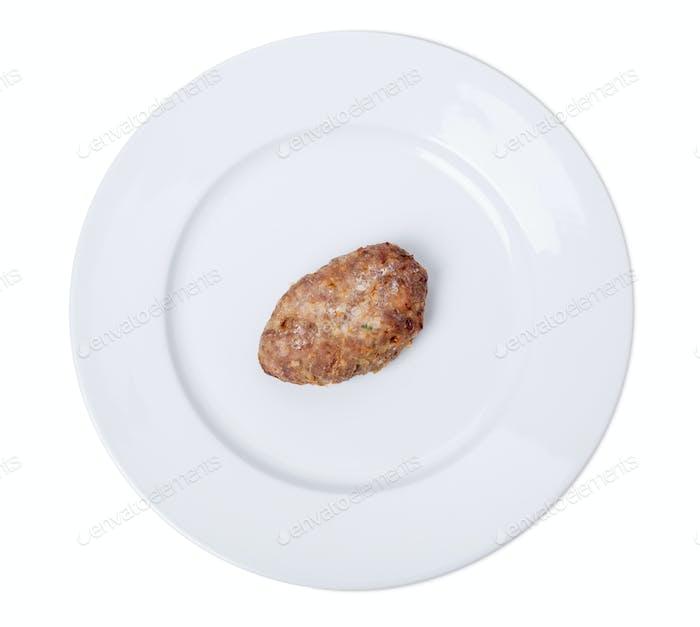 Köstliches Schweineschnitzel.