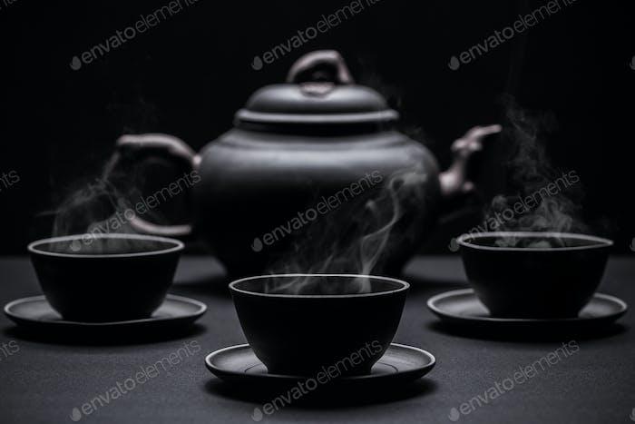 Little black tea cups
