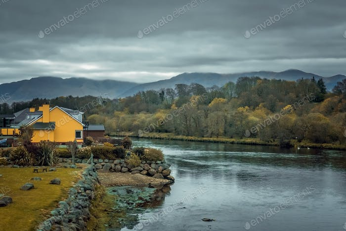 House on the riverbank