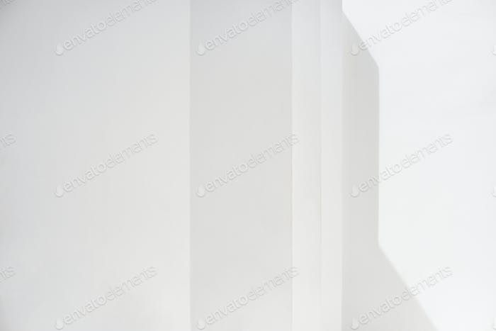 Clean wall with shadow