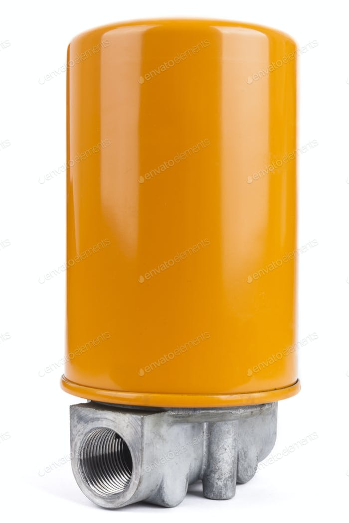 Orange Oil Filter