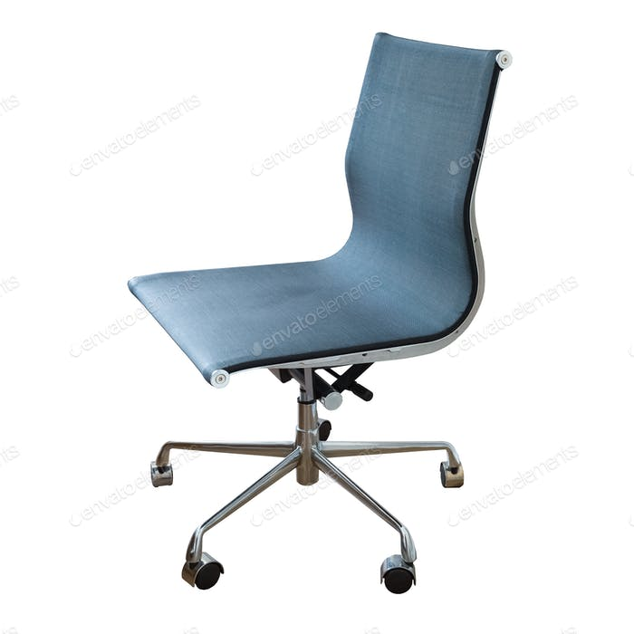 swivel chair isolated