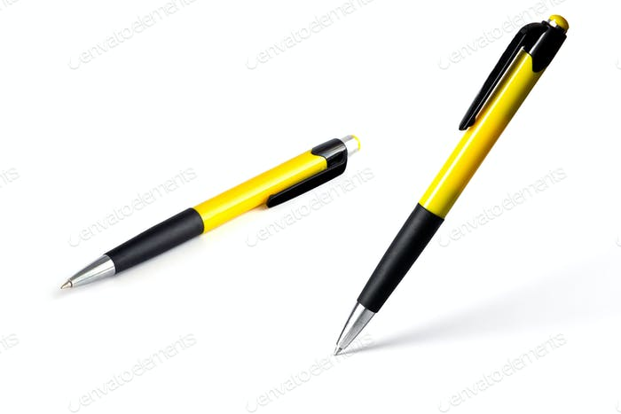 vertical isolated pen