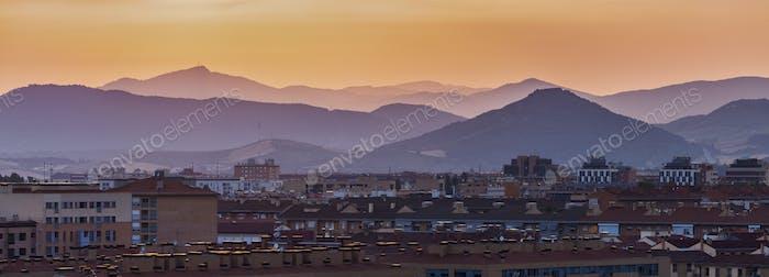 Panorama de Pamplona