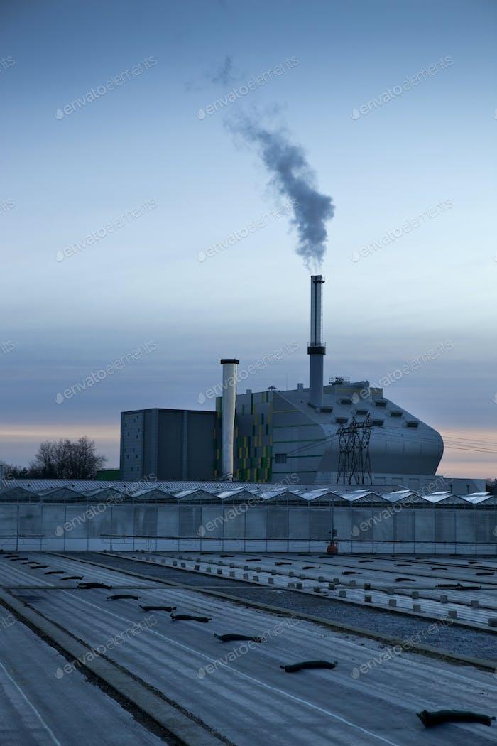 Waste incineration plant