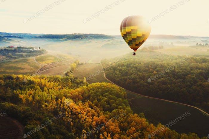 The Tuscan sun.