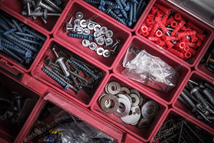 Construction Screws Toolbox
