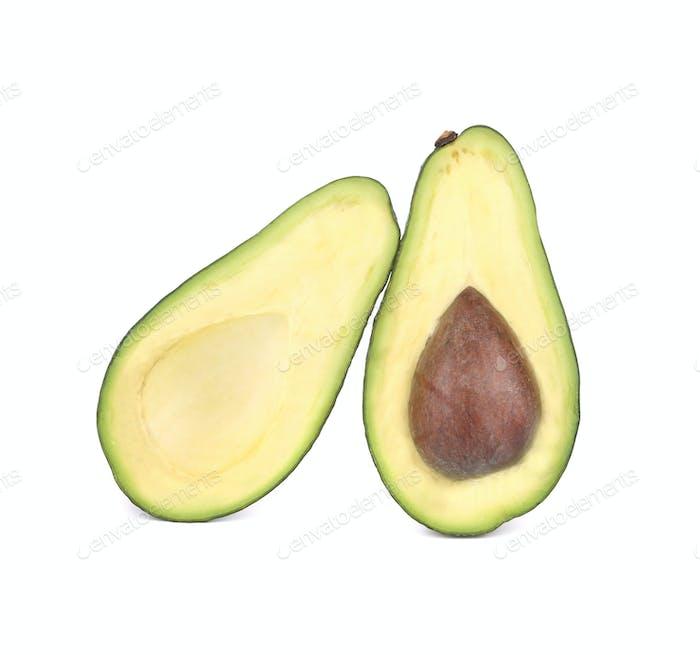 Close up of fresh avocado.