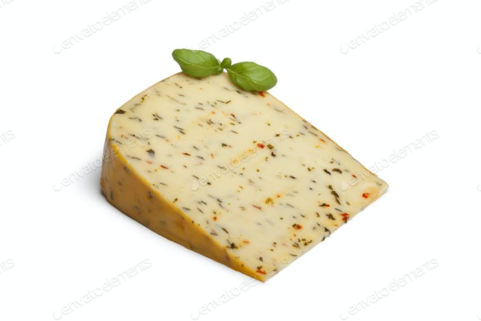 Garden herb cheese