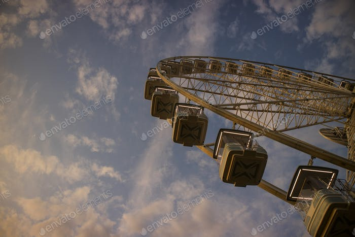 It rotates at the end of the day panning
