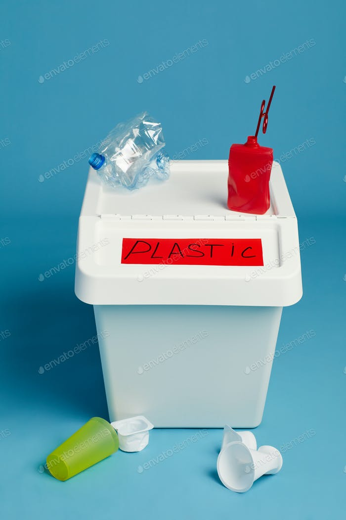 Container for Plastic Waste