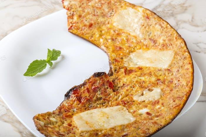 Fresh omelette