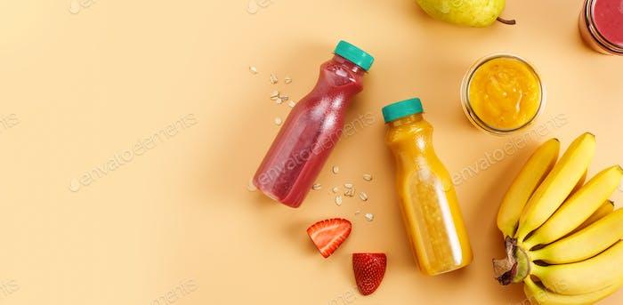 Köstliche Frucht-Smoothies