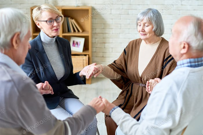 Support Therapy for Senior People