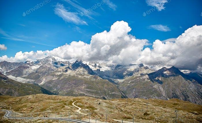 Gornergrat Zermatt, Schweiz, Schweizer Alpen