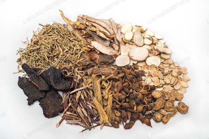 Traditionelle chinesische Kräutermedizin und Bio-Kräuter