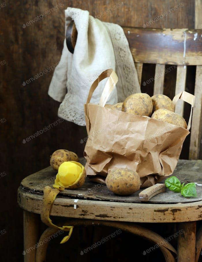 Organic Farm Potatoes