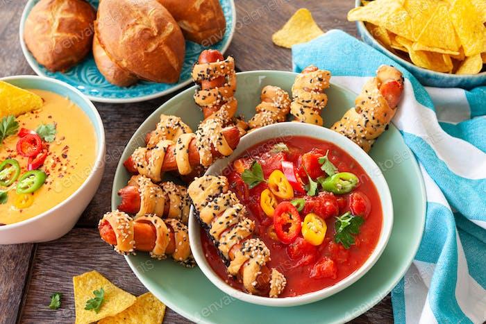 Köstliches Party-Essen