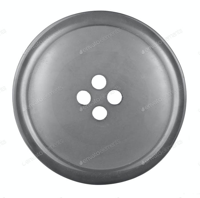 Black cloth button
