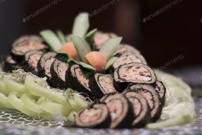 Sushi Pile