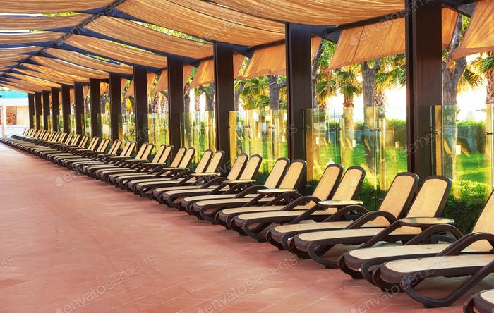 The popular resort with pools and water parks in Turkey. Hotel. Resort