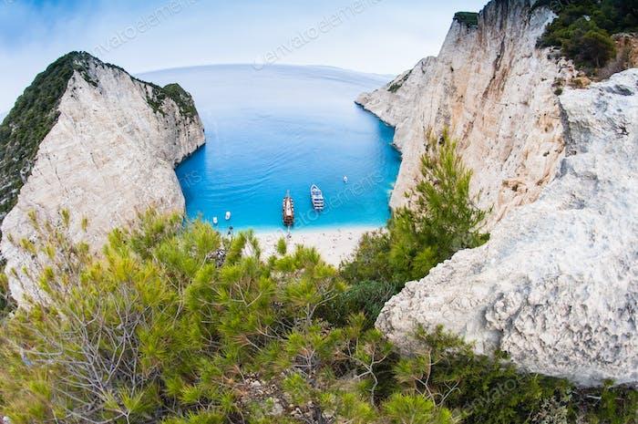 Famous Navagio beach, Zakynthos