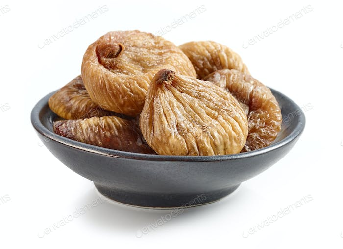 bowl of dried figs
