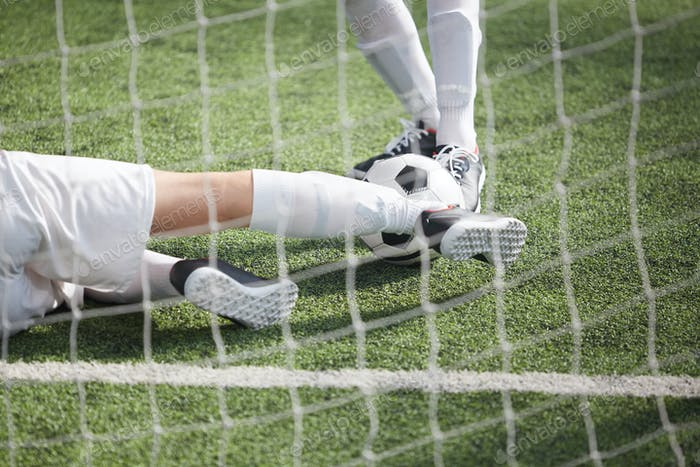 Attacking ball
