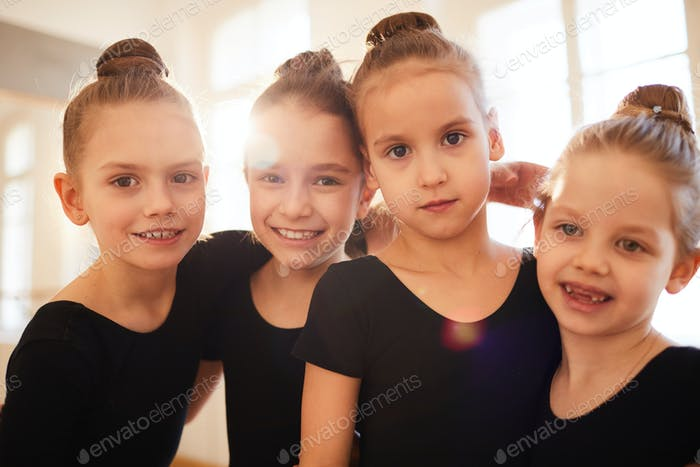 Little Dancers Posing