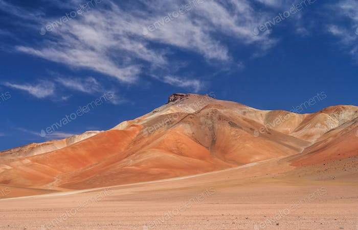 Colourful Mountains of Altiplano