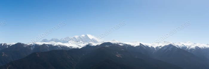 namcha barwa panorama