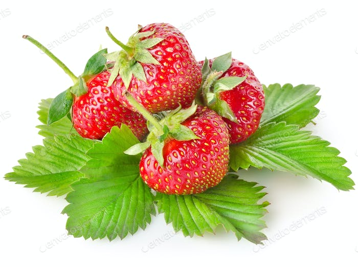Heap strawberry