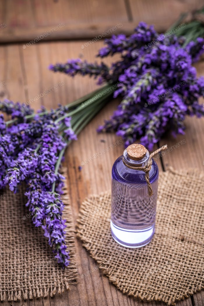 Lavender spa concept