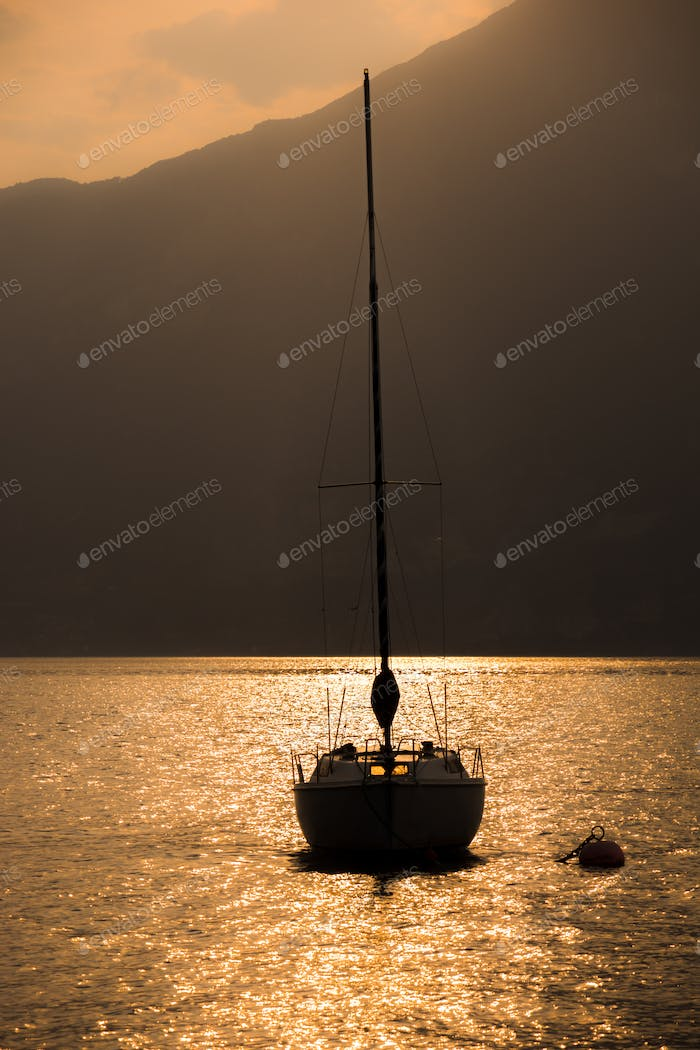 Sailing Boat in the sunset