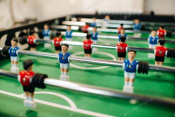 крупным планом футбол Настольная игра для взрослых и детей