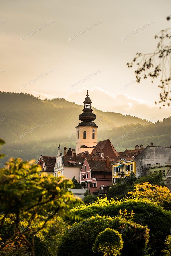 Frohnleiten Austria Golden Hour