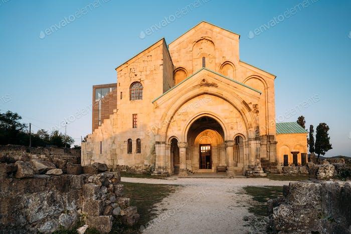 Kutaisi, Georgia. Old Walls Of Bagrati Cathedral. UNESCO World H
