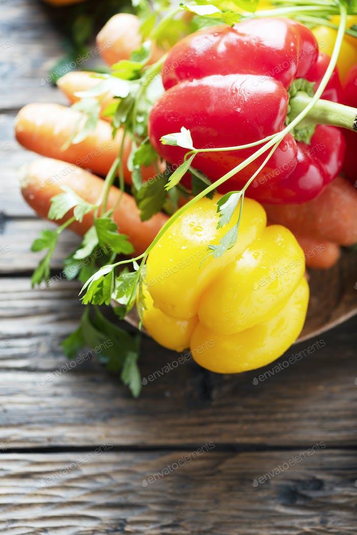Konzept der gesunden Nahrung