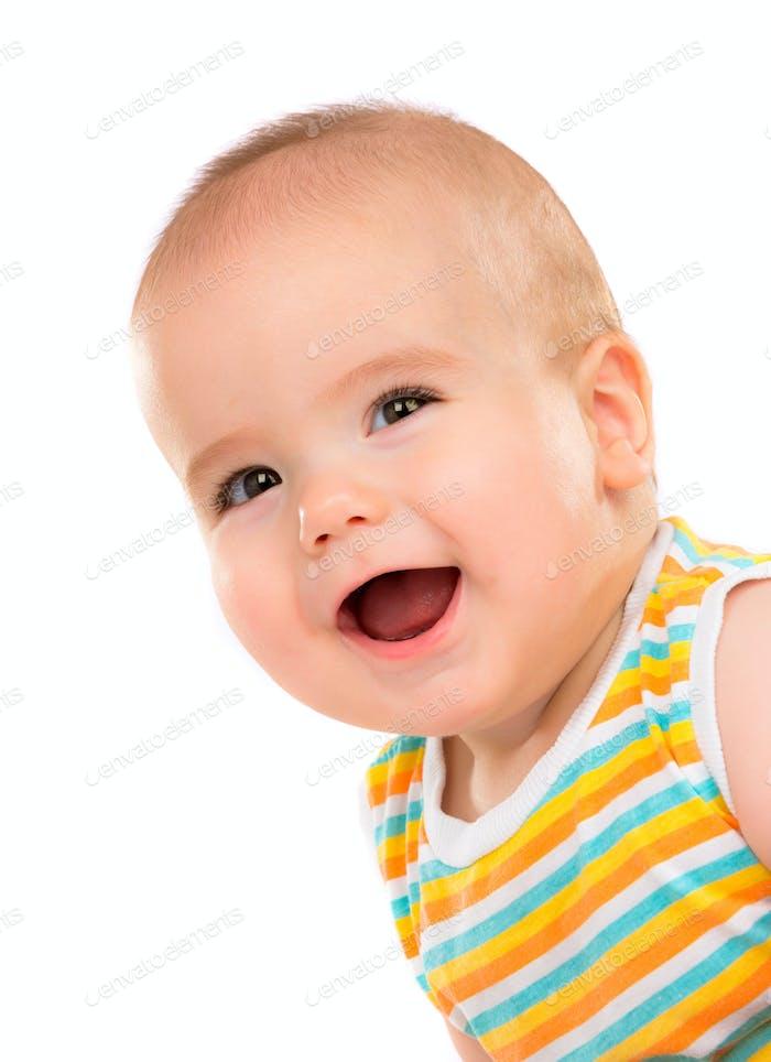 Glückliches kleines Baby