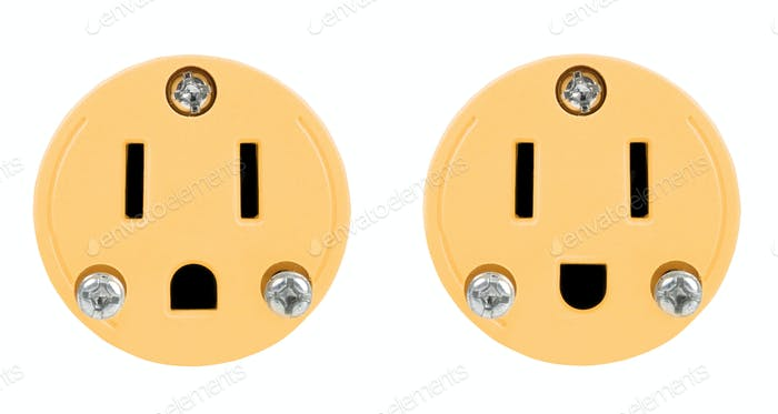 outlet isolated