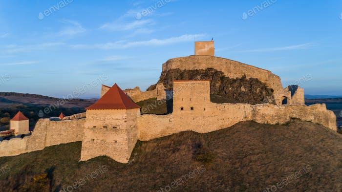 Rupea medieval fortress. Transylvania, Romania