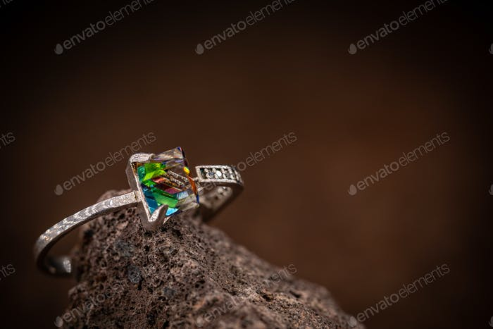 Stylish youth silver rings