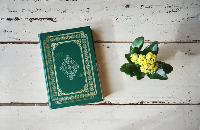 Koran, the holy book of Muslims