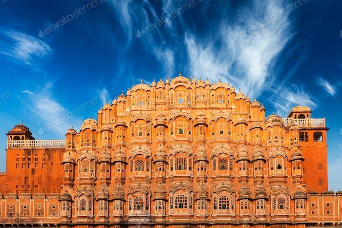 Hawa Mahal Palace of the Winds, Jaipur, Rajasthan