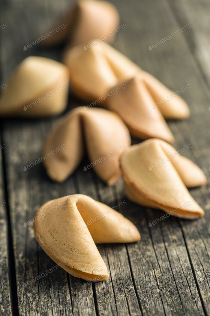 The fortune cookies.