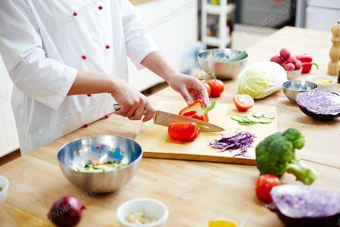 Cooking vlog