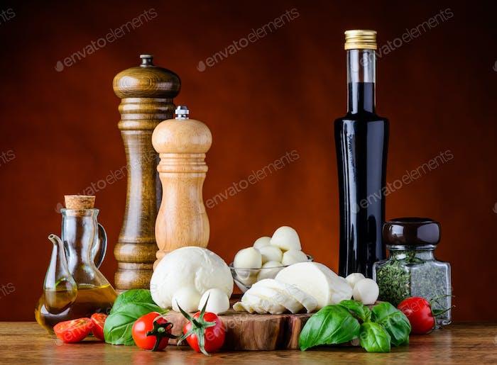Mediterranean Cuisine Food Ingredients