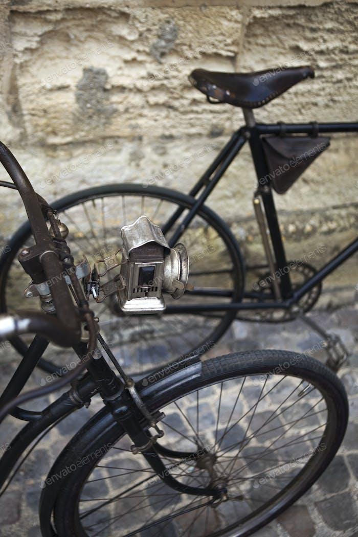 Old vintage bikes